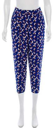 Stella McCartney Silk Printed Pants