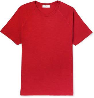 YMC Slub Cotton-Jersey T-Shirt - Men - Red