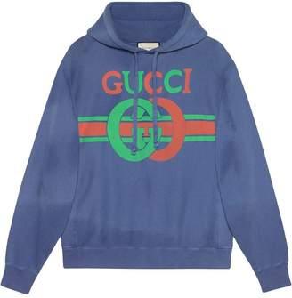 02a70ec46d6 Gucci Sweatshirt with Interlocking G print
