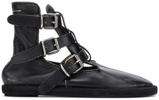 MM6 MAISON MARGIELA buckled ankle boots