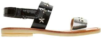 Metallic & Patent Leather Sandals