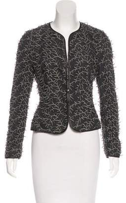 Valentino Appliqué Evening Jacket
