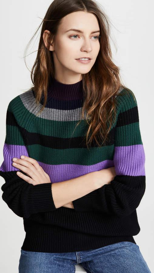 Victoria Wool Raglan Boyfriend Sweater