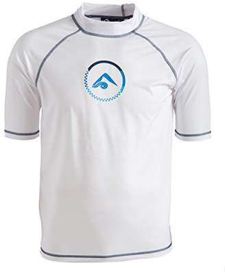 Kanu Surf Men's Haywire UPF 50+ Sun Protective Rashguard Swim Shirt
