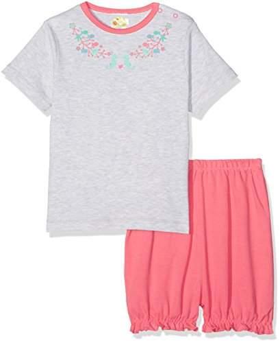 DIMO-TEX Baby Girls' Babypyjama Mermaid Shorty 2 Teilig Pyjama Set