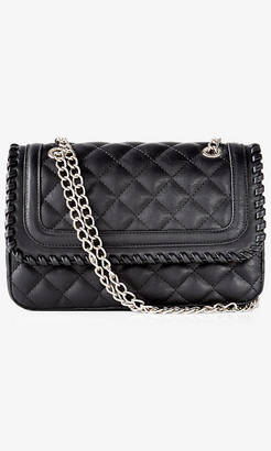 Whipstitch Quilted Chain Strap Shoulder Bag $49.90 thestylecure.com