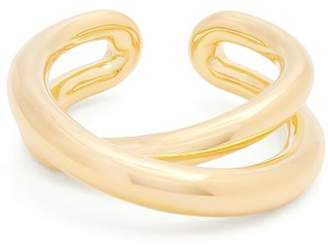 Charlotte Chesnais Initial Vermeil Ring - Womens - Gold