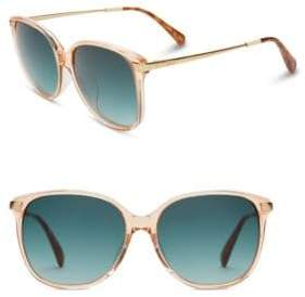 Toms 57MM Butterfly Sunglasses