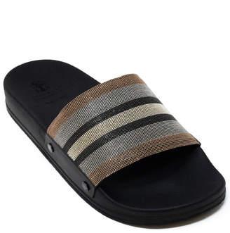 Brunello Cucinelli Leather Slide