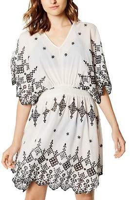Karen Millen Eyelet Dress Swim Cover-Up