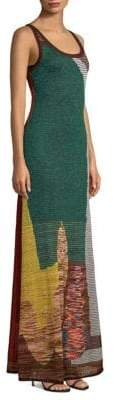 Missoni Mohair-Blend Intarsia Knit Tank Maxi Dress