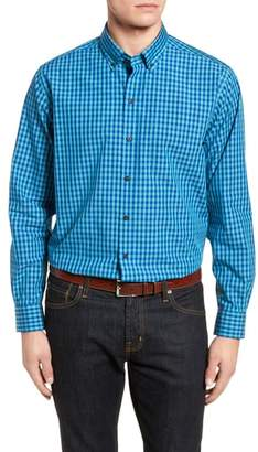 Cutter & Buck Myles Classic Fit Non-Iron Gingham Sport Shirt