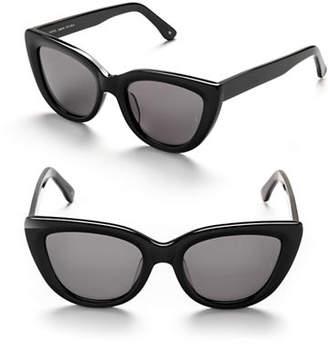 Cat Eye SUNDAY SOMEWHERE Laura 54mm Cat-Eye Sunglasses