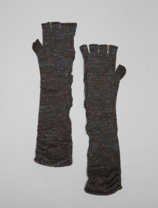 Free People Sparkle Fingerless Gloves