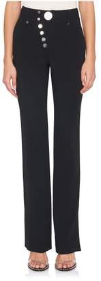 Alexander Wang Wide Leg Button-Up Trouser