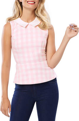 Review Stretch Peplum Style Top