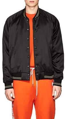 Stampd Men's Satin Bomber Jacket