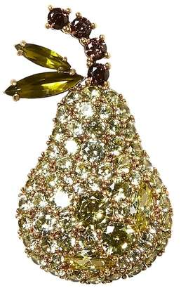 Banana Republic Pave Pear Brooch