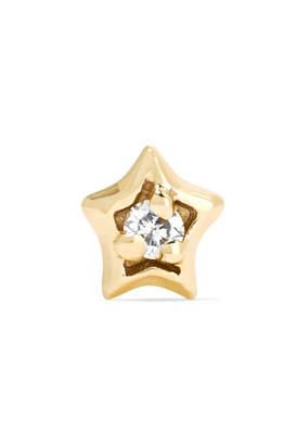 Maria Tash - 14-karat Gold Diamond Earring