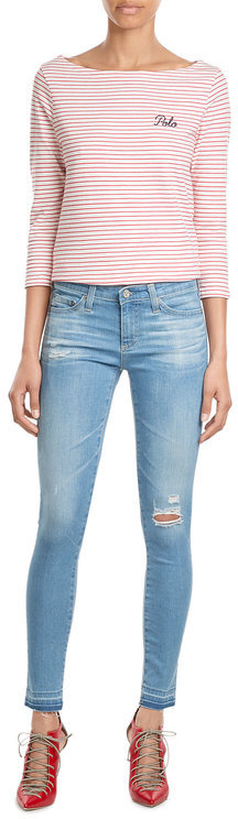 AG JeansAG Jeans Distressed Jean Leggings