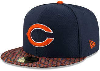 New Era Boys' Chicago Bears Sideline 59FIFTY Fitted Cap