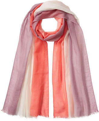 Agnona Cashmere and Cotton Scarf