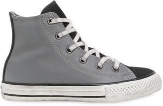 Converse Leather & Suede Sneakers