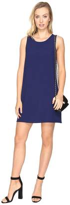 BB Dakota Ballard Crepe Shift Dress Women's Dress