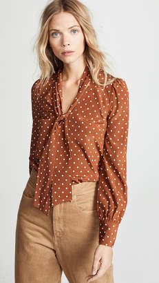 Veronica Beard Jeffries Blouse