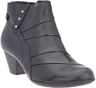 Earth Leather Ankle Boots - Hope