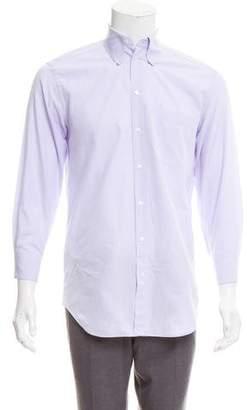 Giorgio Armani Woven Dress Shirt