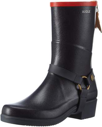 Aigle Womens Miss Julie Rubber Boots 41 EU