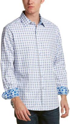 Robert Graham Microcar Woven Shirt