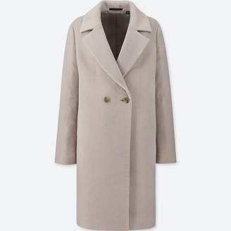 Uniqlo WOMEN Light Weight Wool Blended Tailored Coat