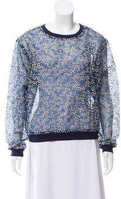 Manoush Embroidered Long Sleeve Top w/ Tags
