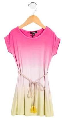 Imoga Girls' Belted Gradient Dress