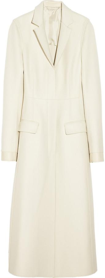 Reed Krakoff A-line wool-blend felt coat