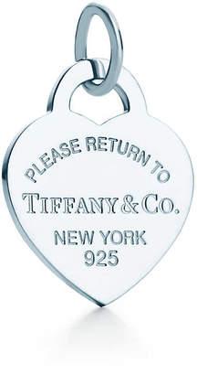 Tiffany & Co. Return to TiffanyTM heart tag charm in sterling silver, medium