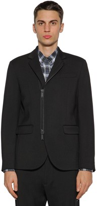 DSQUARED2 Zip-up Wool Cady Jacket