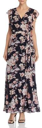 Paige Maquel Silk Floral Wrap Dress