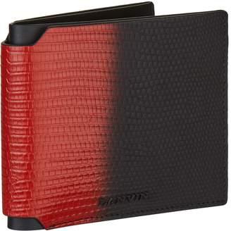 Lanvin Two-Tone Lizard Wallet