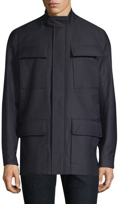 Canali Wool Field Jacket