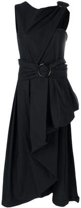 Isa Arfen asymmetric draped top