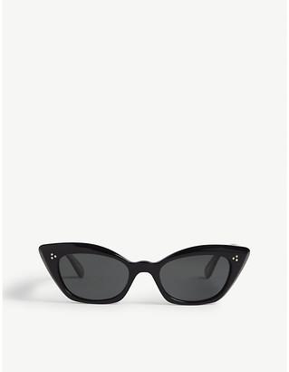f1551378884cc Oliver Peoples OV5387 Bianka cat-eye-frame sunglasses