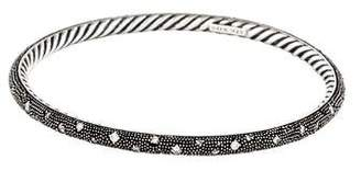David Yurman Diamond Midnight Melange Bangle