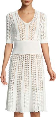 Michael Kors Hand-Crocheted Dress