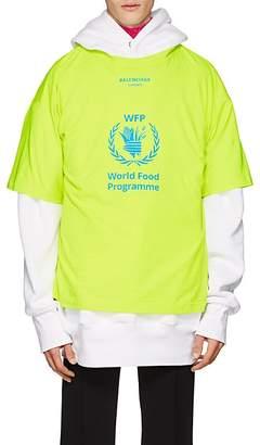 Balenciaga Men's World Food Programme Cotton T-Shirt