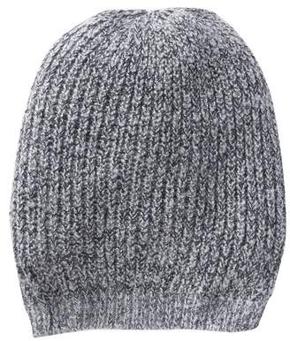 Halogen Boucle Ribbed Knit Beanie