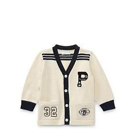 Polo Ralph Lauren Combed Cotton Cardigan(6-24 Months)