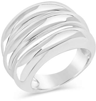 Sterling Forever Sterling Silver Triple Band Ring